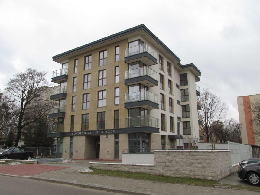 Budynek mieszkalny przy ul.Konopnickiej 1c w Białymstoku