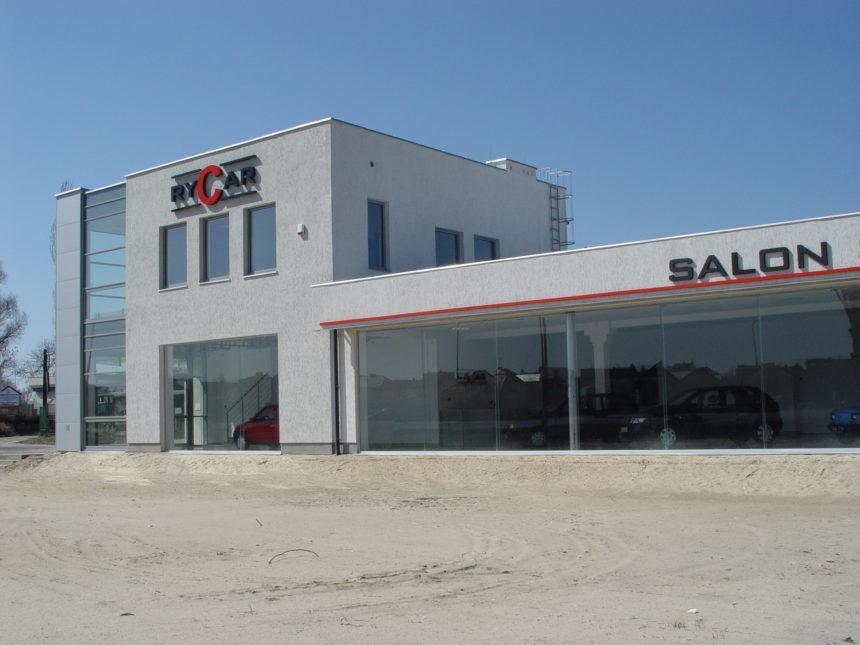 Salon Samochodowy Rycar w Białymstoku